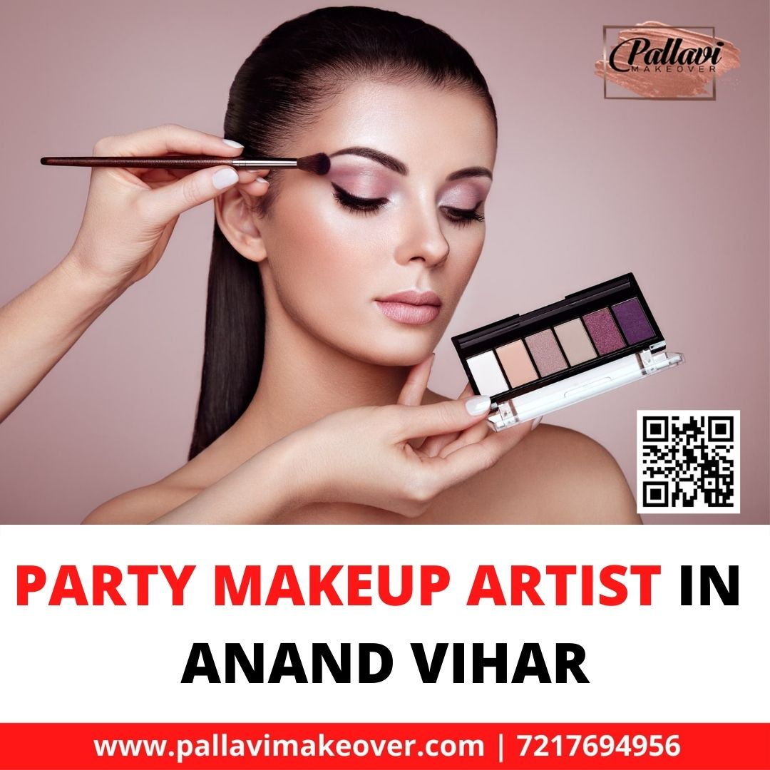Party Makeup Artist In Anand Vihar